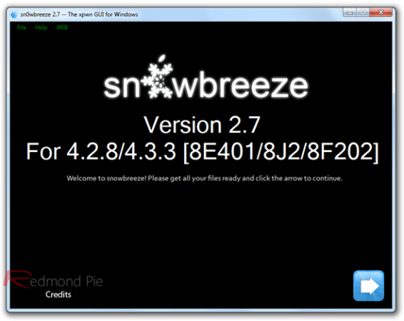 Jailbreak untethered iOS 4.3.3 sin subir baseband en Windows con Sn0wBreeze 2.7.1
