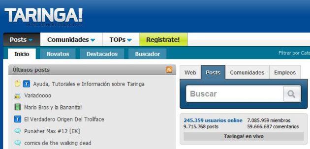 La justicia argentina multa a los dueños de Taringa!