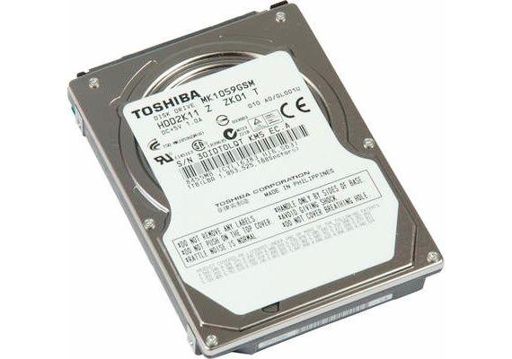 Toshiba MK1059GSM, 2,5″ 1 Tbyte