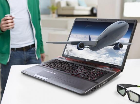 Toshiba añade el 3D al Qosmio X770