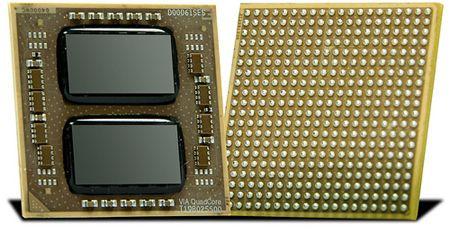 VIA presenta un procesador de cuatro núcleos de bajo consumo