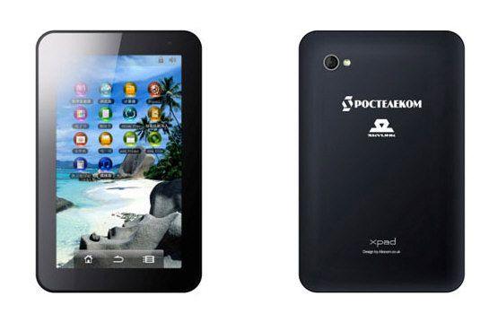 Xpad, primer tablet con GPS y GLONASS