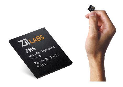 Nuevos chips ARM ZiiLabs, llegan los 4 núcleos