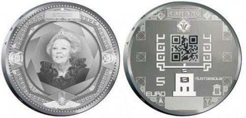 Monedas conmemorativas holandesas integran QR Code 31