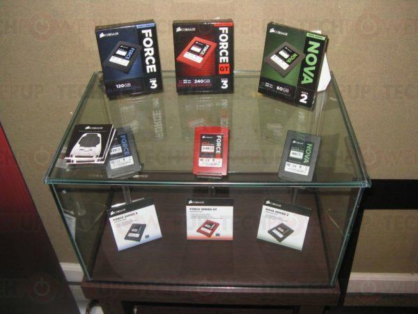 Corsair muestra tres nuevas líneas de SSDs para 2011-2012