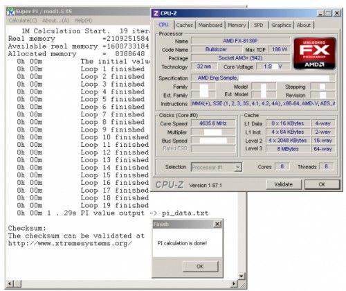 AMD Bulldozer alcanza 4,63 GHz mediante overclock 29