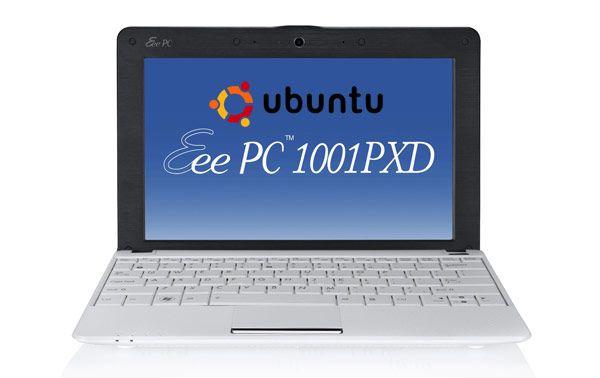 Ubuntu llega a los ASUS Eee PC