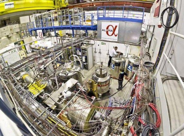 CERNalpha 607x450 El CERN atrapa antimateria durante 16 minutos