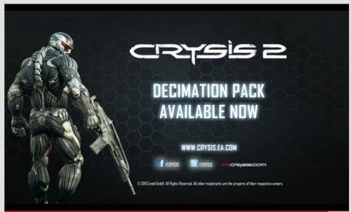 Tráiler de Crysis 2 Decimation Pack