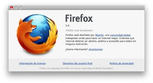 Firefox 5.0 final