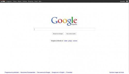 Nuevo look Google