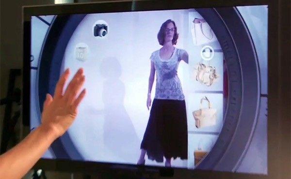 En el futuro saldremos de compras con Kinect