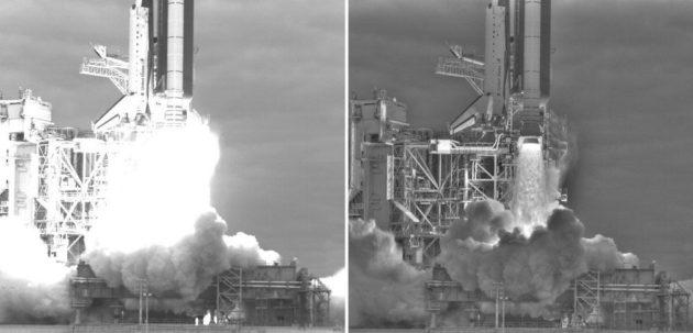 Lanzamiento del Endeavour como nunca habíamos visto