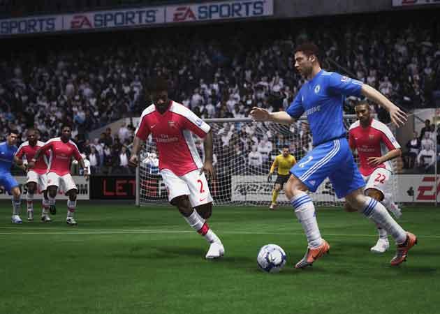 Los mejores fallos en FIFA 11 27