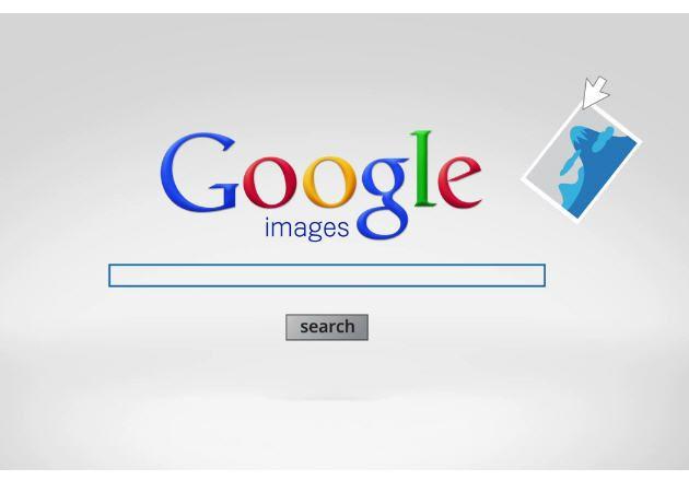 Google te permite buscar no solo por palabras, sino por imágenes
