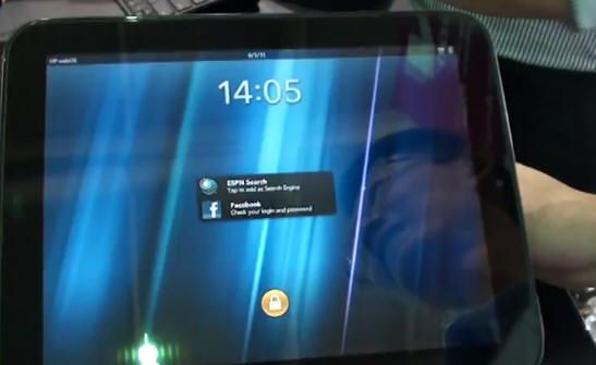 [Computex 2011] HP TouchPad en vídeo