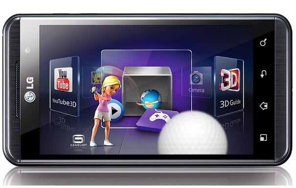 LG Optimus 3D en España con Vodafone