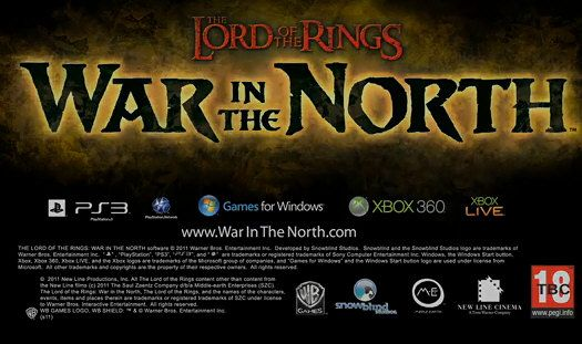 [E3 2011] Lord of the Rings: War in the North