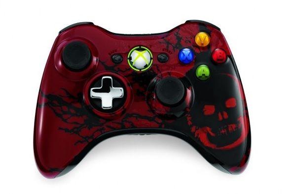 Mando Gears of War 3 Edición Limitada para la Xbox 360