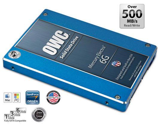 OWC Mercury Electra 6G, otra SSD del 'club de los 500'