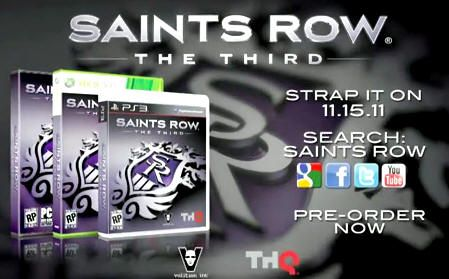 [E3 2011] Saints Row the Third