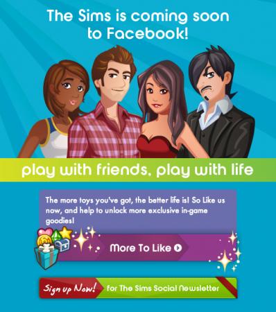 Los SIMS están llegando a Facebook: The Sims Social 30