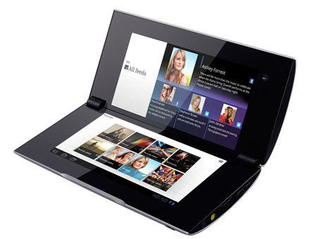 Primer vistazo al tablet plegable Sony S2 de doble pantalla