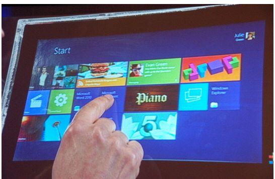 Microsoft estaría trabajando en un tablet propio con Windows 8