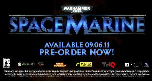 [E3 2011] Warhammer 40.000: Space Marine, tráiler