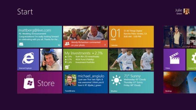 Microsoft ofrece detalles del Windows 8 para tablet