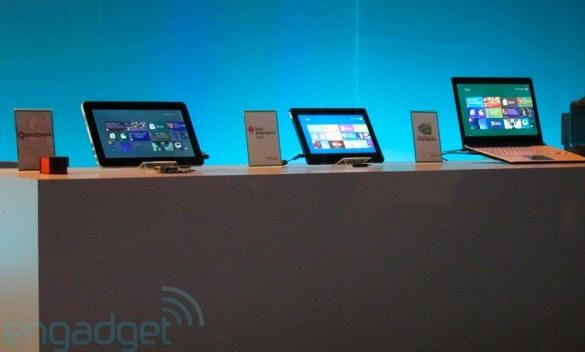 Primeros prototipos ARM con Windows 8