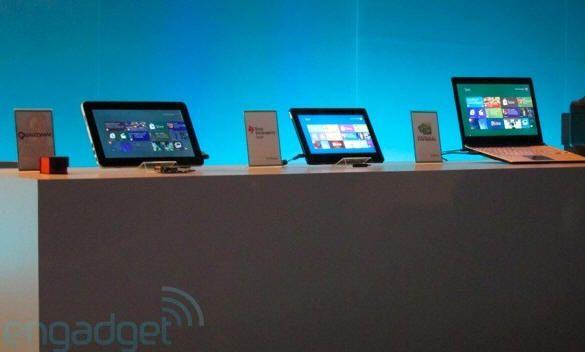 Primeros prototipos ARM con Windows 8