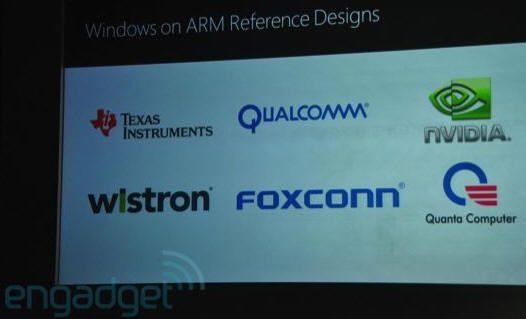 [Computex 2011] Prototipos ARM con Windows 8 32