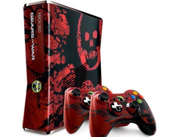 Xbox 360 edición Gears o War 3 en reserva