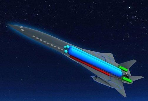 Paris-Tokio en 2,5 horas con el avión-cohete Zehst 29