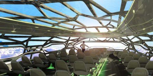 Los aviones del futuro, previsiones de Airbus para 2050