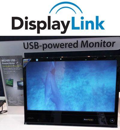 Monitor DisplayLink ASUS MS234b 23 pulgadas, funciona desde USB 3.0
