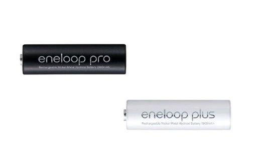 Nuevas pilas Sanyo Eneloop Pro y Plus