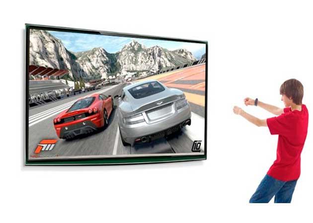 Demo de Forza 4 con Kinect