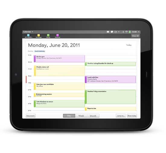 El tablet HP TouchPad a la venta el 1 de julio; a España llegará en septiembre