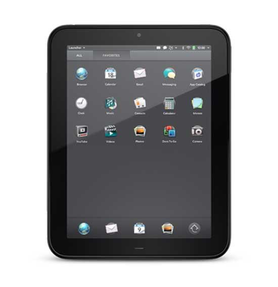 El tablet HP TouchPad a la venta el 1 de julio; en España llegará en septiembre