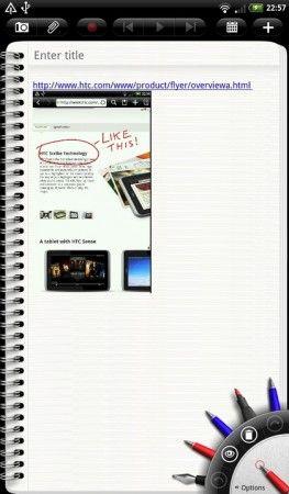 Analizamos Flyer, el primer tablet de HTC 41