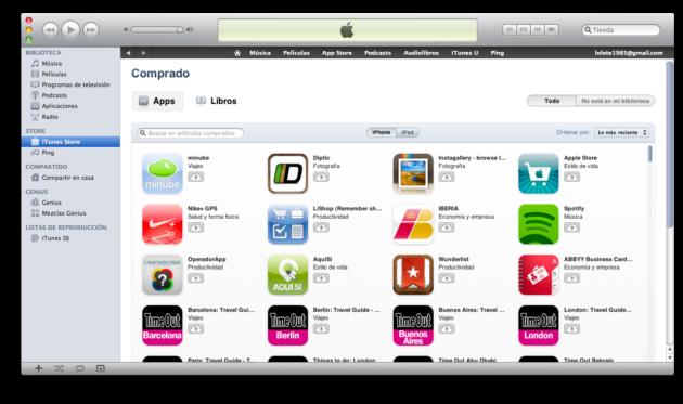 El 50% de los usuarios de iPhone nunca lo ha sincronizado con iTunes 37