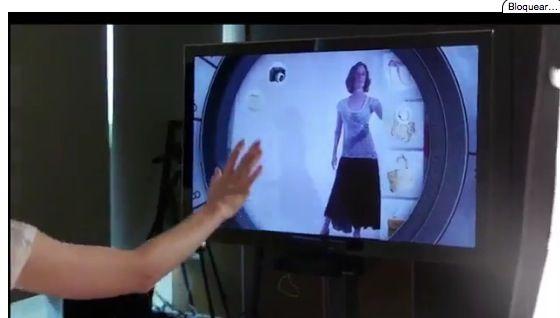 Kinect, el futuro para las compras de ropa y complementos: KinectShop