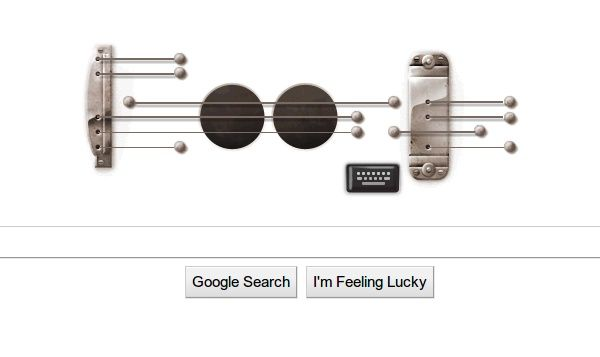 lespaul doodle El Doodle musical de Les Paul se queda en Google, muy exitoso