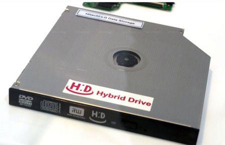 LG Hitachi lanza una unidad híbrida Blu-ray y SSD, H:D ODD