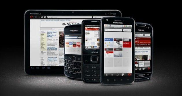 Opera Mini 6.1 y Opera Mobile 11.1