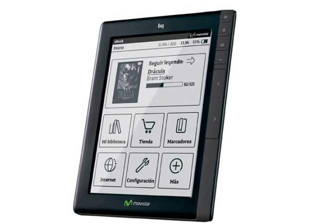 Movistar ebook bq 29