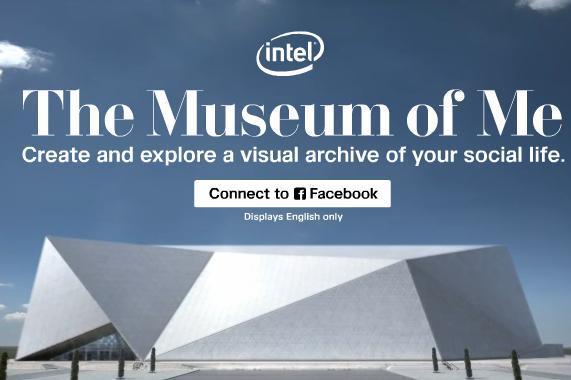 Intel Museum of Me, representación visual de tu presencia en Facebook 30