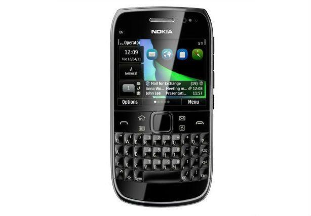 Nokia E6 con batería de larga duración